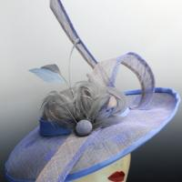 Jacquie, Beautiful sinamay derby hat