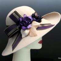 Ivory Wool Felt Hat