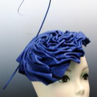 Sapphire blue leather