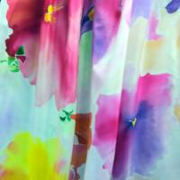 Hand-dyed Silk