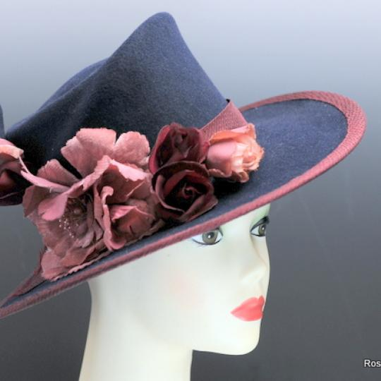 Luxury and beauty in one lovely hat.