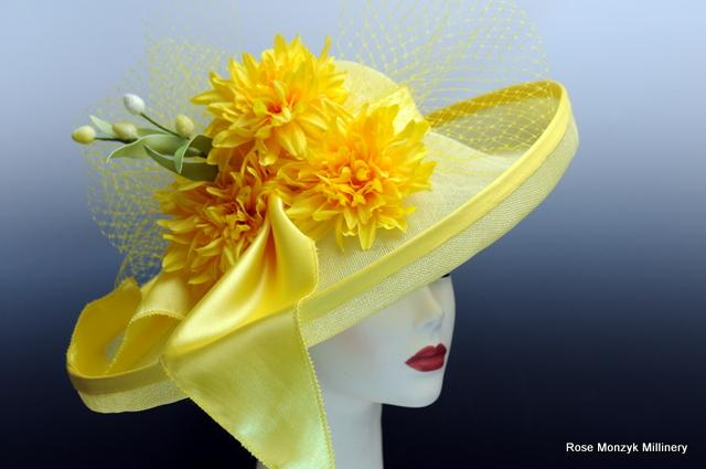 Bright Sunny Yellow Breton Hat